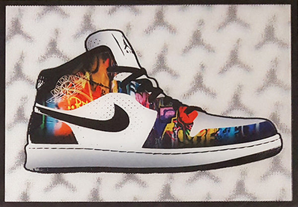 Graffiti Sneaker, by Klau