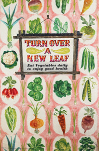 Turn Over a New Leaf, by Unknown