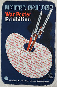 United Nations War Poster Exhibition, by Unknown