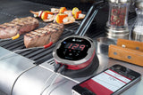 iGrill2 Bluetooth Meat Thermometer with Ambient Probe by Weber FREE Storage Bag and Temperature Magnet - Some iCool Things