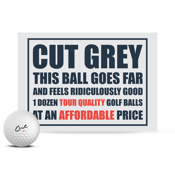 Cut Grey (Dozen)