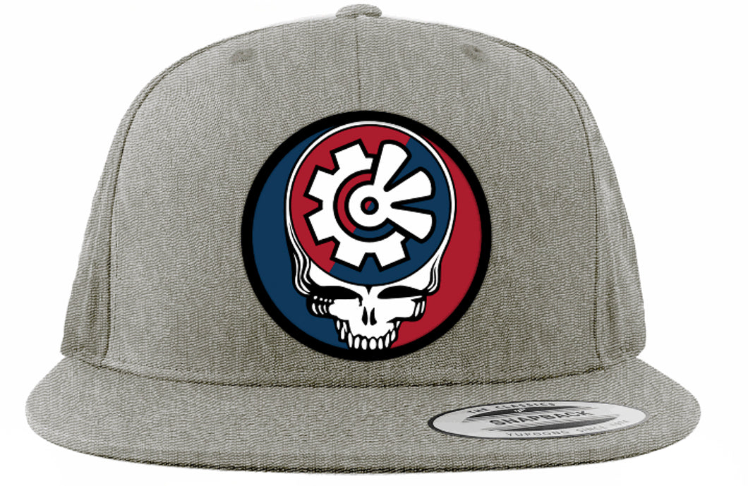 Fisher Creative Steal Your Face Hat - Heather Grey