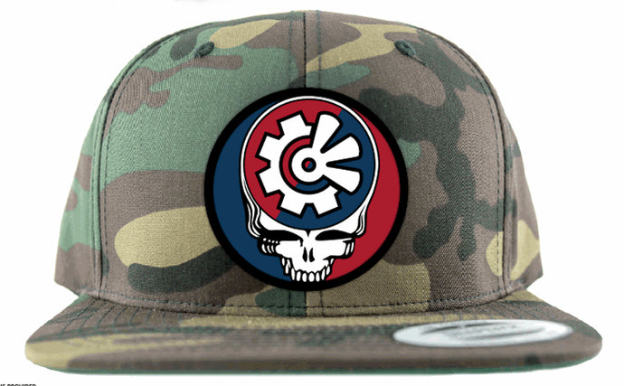 Fisher Creative Steal Your Face Snapback - Camo