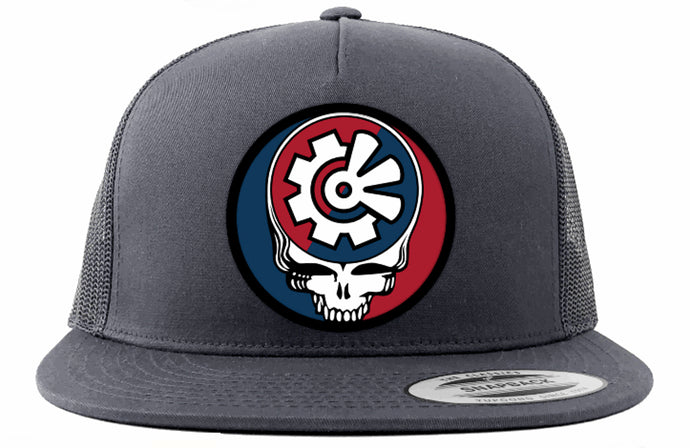 Fisher Creative Steal Your Face Trucker Hat - Charcoal