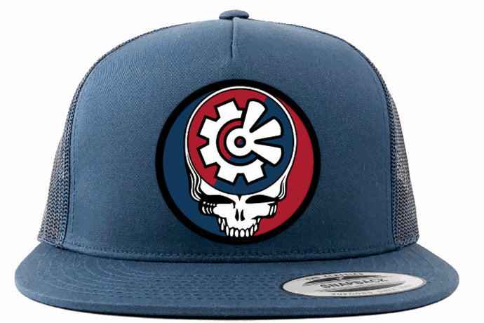 Fisher Creative Steal Your Face Trucker Hat - Navy