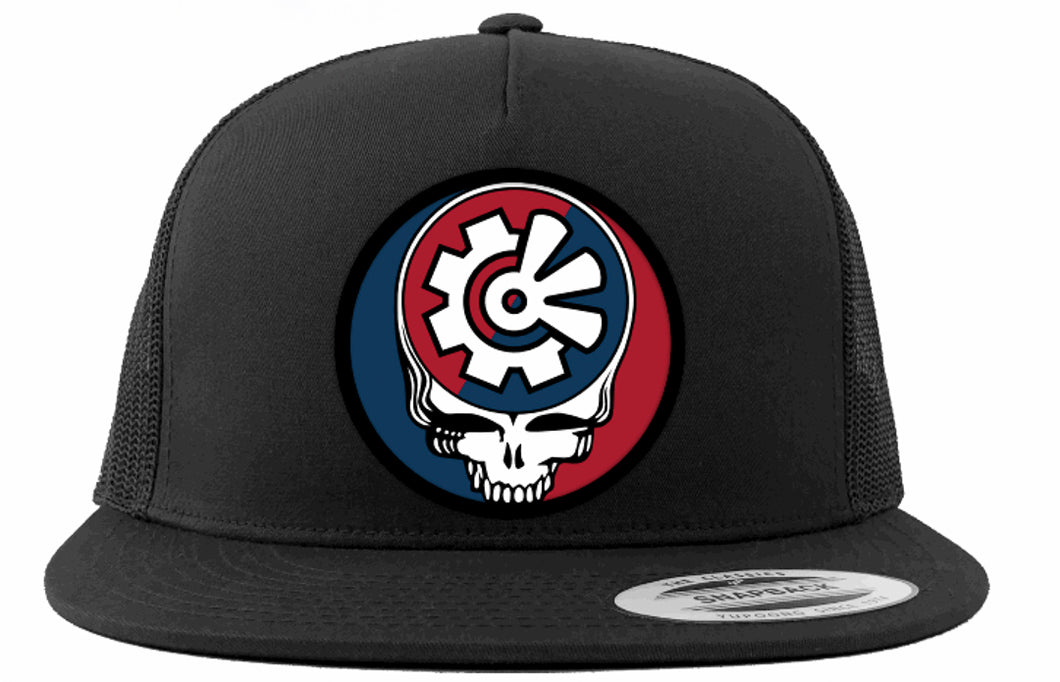 Fisher Creative Steal Your Face Trucker Hat - Black
