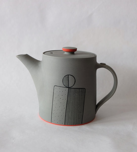James and Tilla Waters/ Teapot