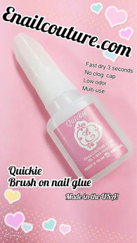 Quickie brush on Nail Glue!
