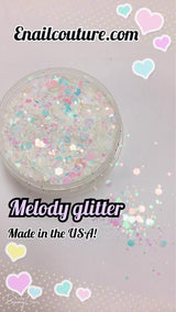 Melody, pure glitter mix!