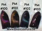 Cat eye Precious Minerals gel polish twilight collection