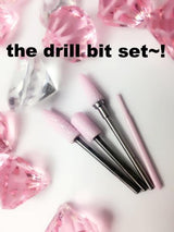 The Pink Diamond Nail Drill Bit Set