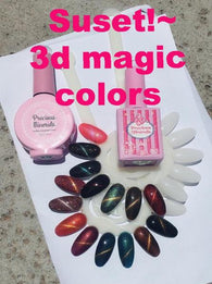 Sunset !~ , Precious Minerals limited edition (3d magic colour)