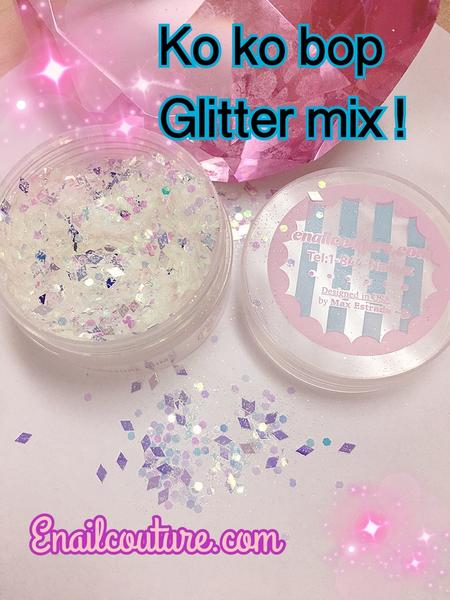 Koko Bop , pure glitter mix!