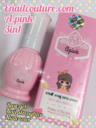 Base coat Apink coloured basecoat