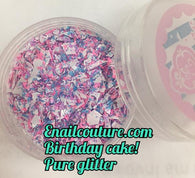 Birthday Cake , Pure glitter mix!