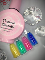 Precious Minerals Gel polish Crayon POP, glass look