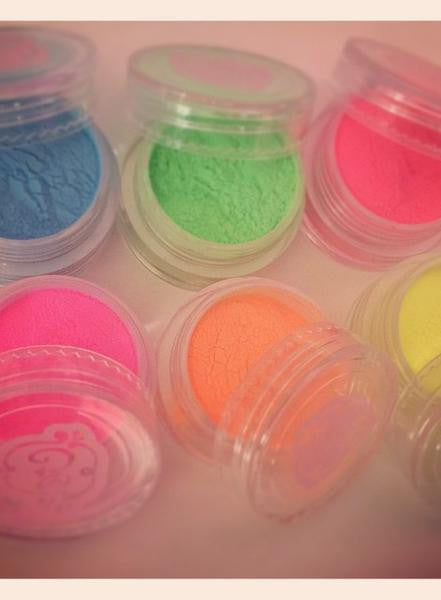 Acrylic powder F(X) Coloured Powders - NEON