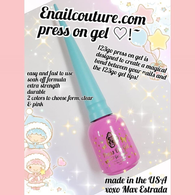 Press on Gel 123go Nails
