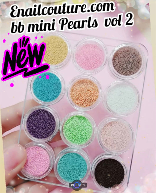 BB mini pearls pastel