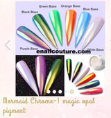 Mermaid Chrome~! magic opal pigment