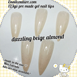 New Active almond shape 123 go  Soft Gel Full Cover Nail Tips! Note : the pink box is 3.99 the nails are $18.99