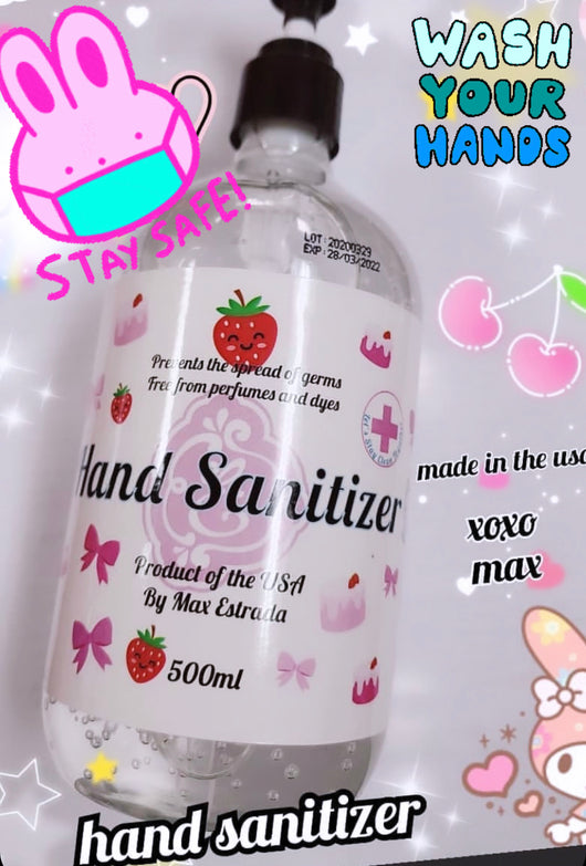 Hand sanitizer by Enailcouture