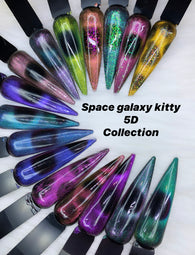 space galaxy kitty gels!~ (NEW 5d cat eye color gels)