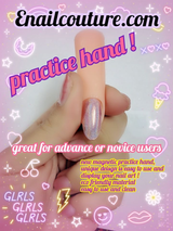 Practice hand by Enailcouture