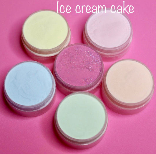 Acrylic Powder Ice Cream Cake Coloured Powders