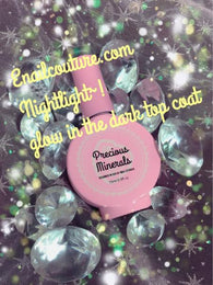 Precious Minerals glow in the dark top coat Night owl (049)