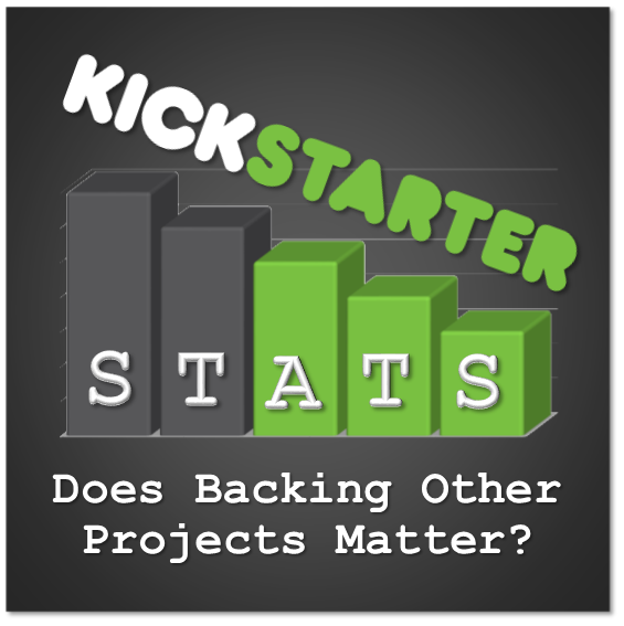 Kickstarter Stats 101: Does Backing Other Projects Matter?