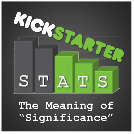 "Kickstarter Stats 101: The Meaning of Statistical ""Significance"""