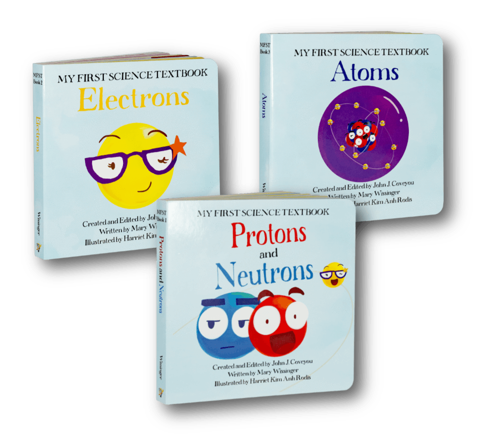 Science Books for Kids! | All Three Board Books in the My First Science Textbooks series