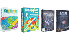 Bundle - Chemistry Games | Periodic + Subatomic + Ion + Covalence
