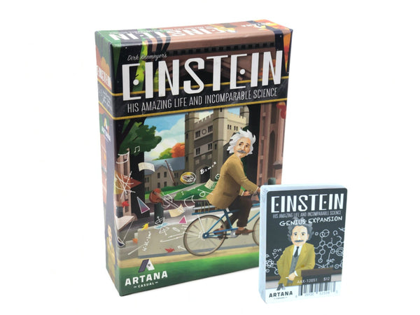 Bundle - Einstein | Einstein Base Game + Genius Expansion