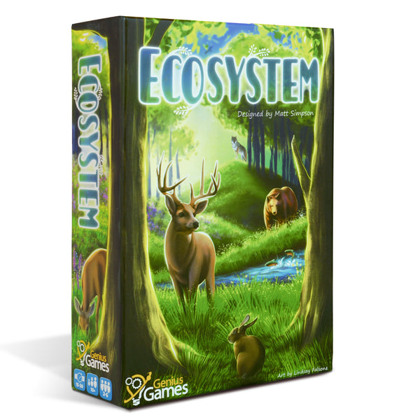 Ecosystem - A Habitat Building Card Drafting Game