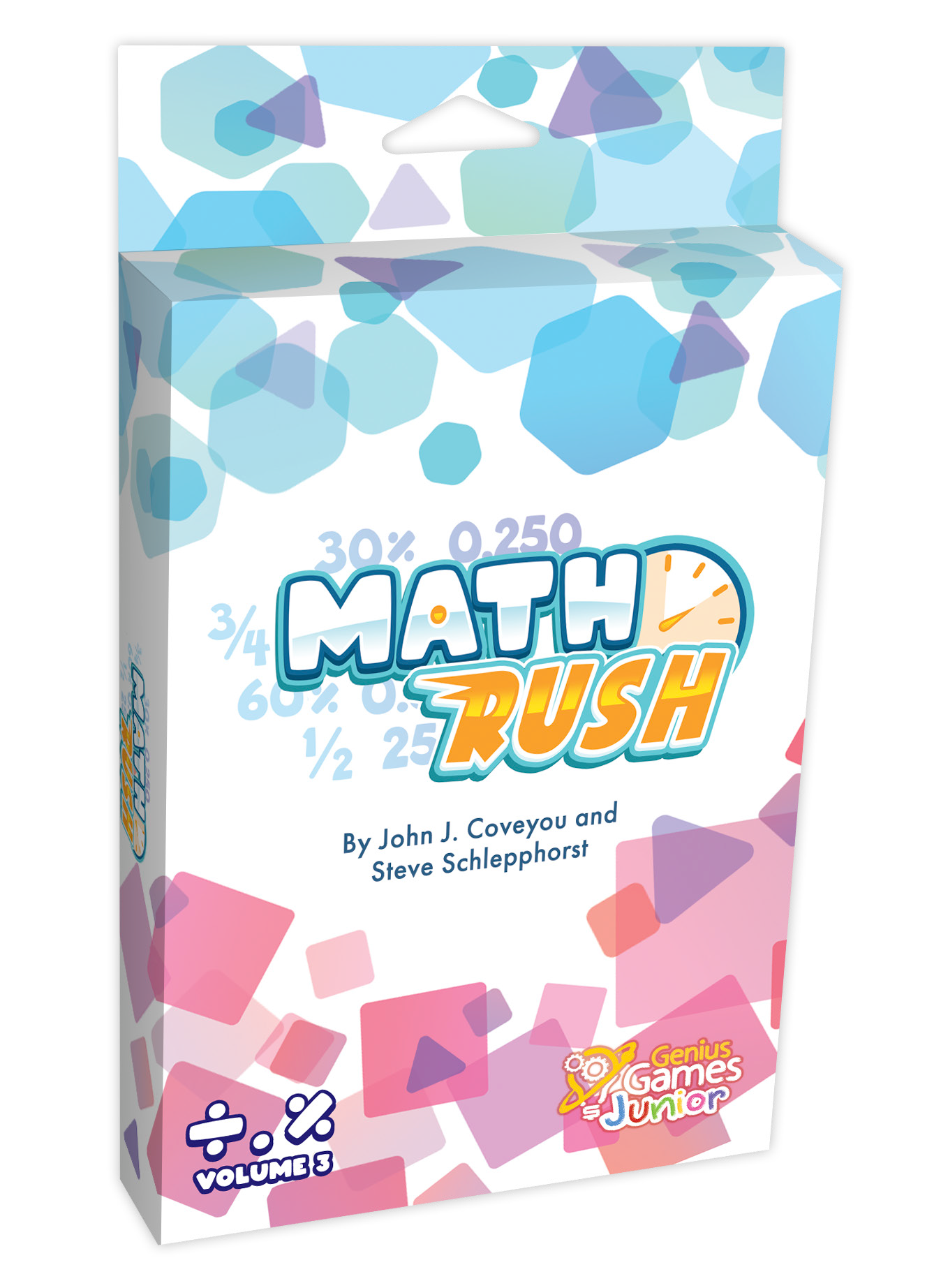 Math Rush 3: Fractions & Decimals - Available July 2021!