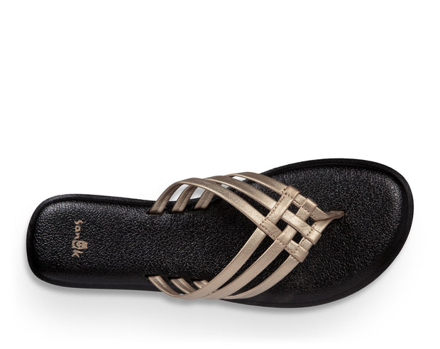 Women's Sanuk Yoga Salty Metallic