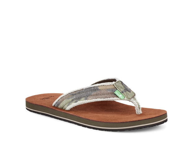 Men's Sanuk Fraid Not Camo
