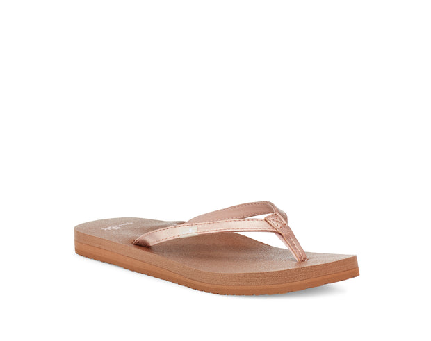 Women's Sanuk Yoga Joy Shimmer Metallic Sandal