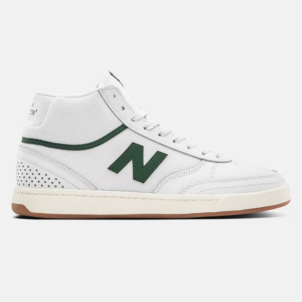 New Balance Numeric 440 Hi - White - HWG NM440HWG