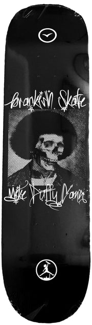 BRACKISH X MIKE DUFFY GANG Skeleton Afro Deck