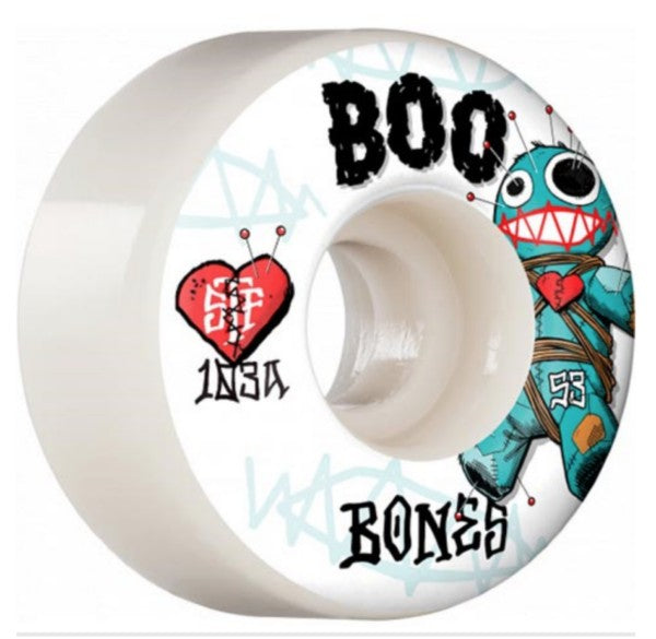 Bones STF V4 Wide Wheels - Boo Voodoo 55mm