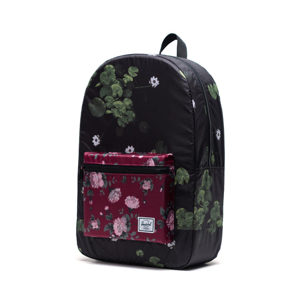 Unisex Herschel Daypack Backpack | Packable Collection | Fine China Floral