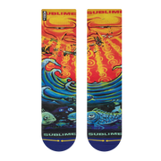 Unisex Merge 4 Sublime Everything Under The Sun Mid Length Crew Sock
