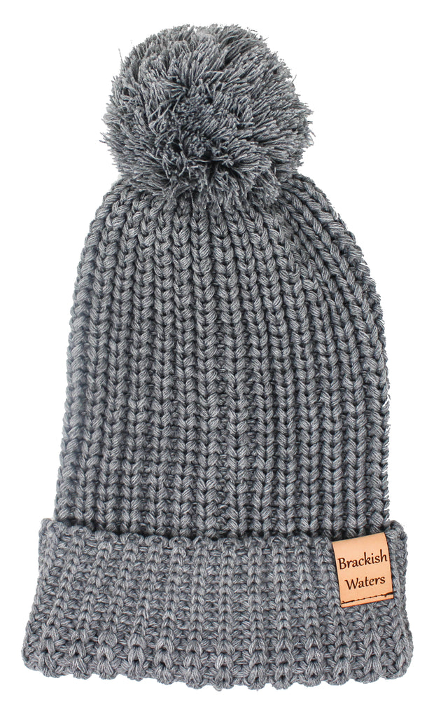 Women's Brackish Waters Pom Beanie