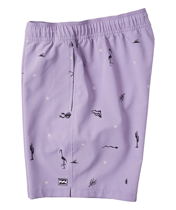Men's Billabong Sundays Layback Short | Lavender