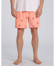 Men's Billabong Sundays Layback Short | Neon Melon