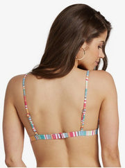 Women's Roxy Mexi Stripe Fix Tri Top