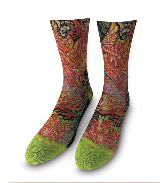 Women's Merge 4 Koi Sock
